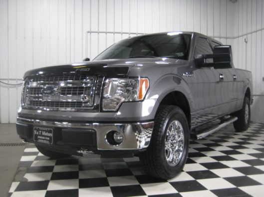 2013 Ford F150 Gray Crew 001