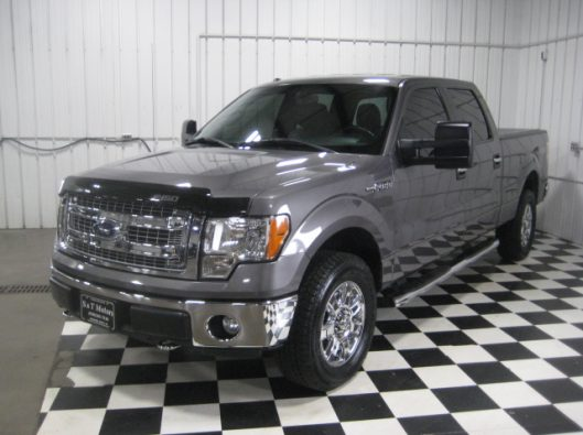 2013 Ford F150 Gray Crew 002