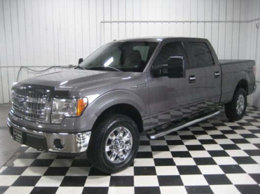2013 Ford F150 Gray Crew 003
