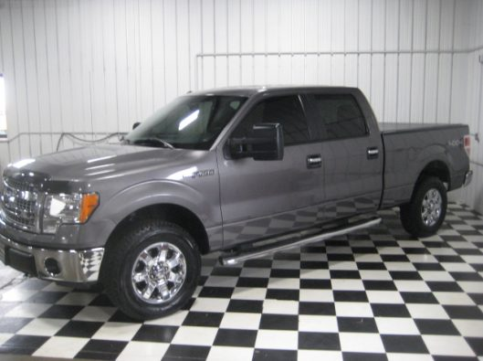 2013 Ford F150 Gray Crew 004