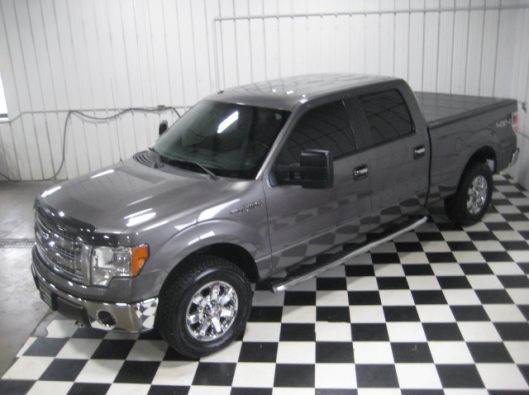 2013 Ford F150 Gray Crew 005