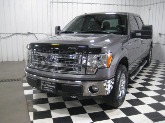 2013 Ford F150 Gray Crew 007