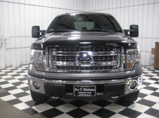 2013 Ford F150 Gray Crew 008