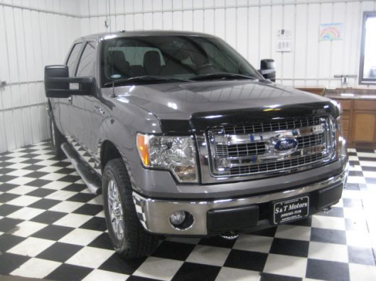 2013 Ford F150 Gray Crew 010