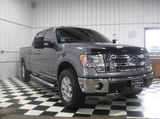 2013 Ford F150 Gray Crew 011