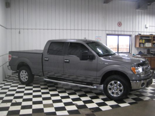 2013 Ford F150 Gray Crew 013