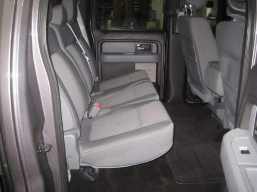 2013 Ford F150 Gray Crew 028