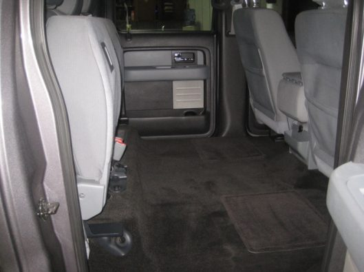 2013 Ford F150 Gray Crew 029