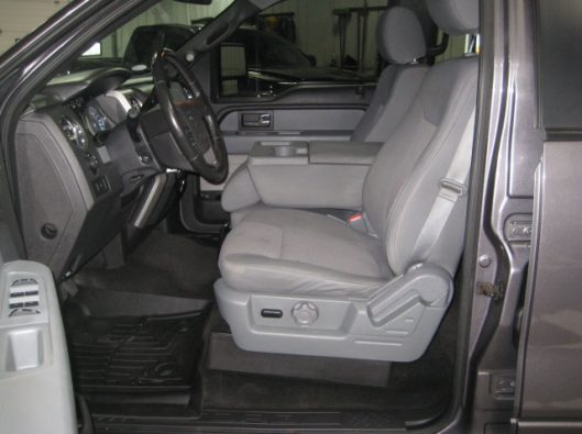 2013 Ford F150 Gray Crew 034
