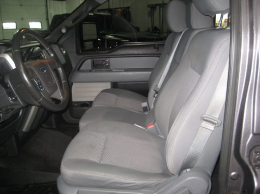 2013 Ford F150 Gray Crew 041