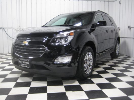 2016 Chevy Equinox LT Black 001