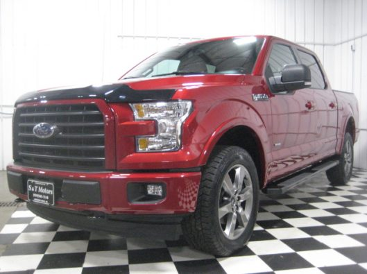 2017 Ruby Red F150 Crew 001