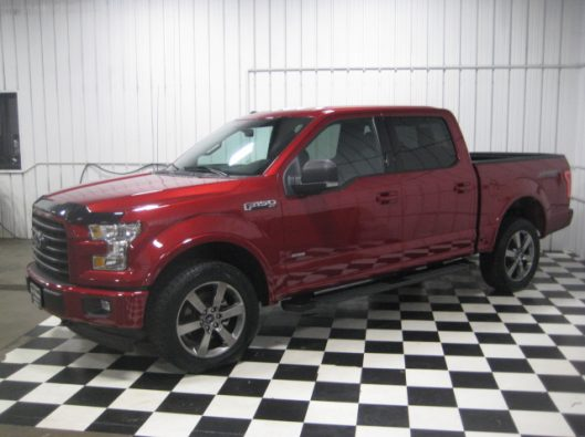 2017 Ruby Red F150 Crew 005