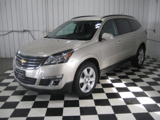2016 Chevy Traverse Tan LT AWD 002
