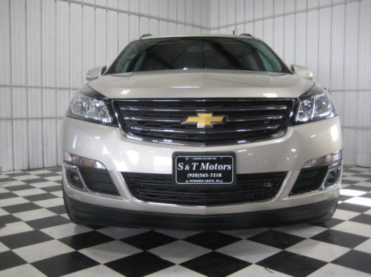 2016 Chevy Traverse Tan LT AWD 006