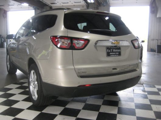 2016 Chevy Traverse Tan LT AWD 013