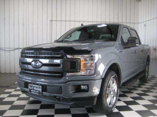 2018 Ford F150 Gray 001