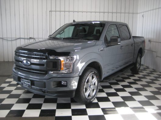2018 Ford F150 Gray 002
