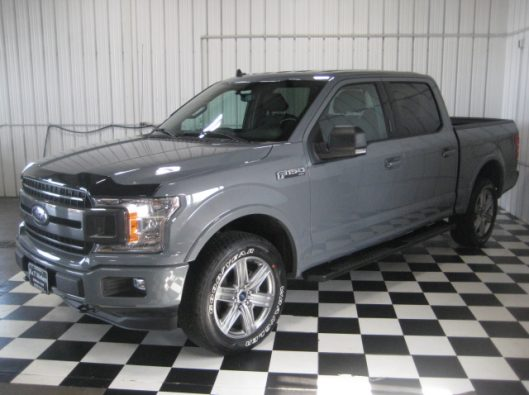 2018 Ford F150 Gray 004