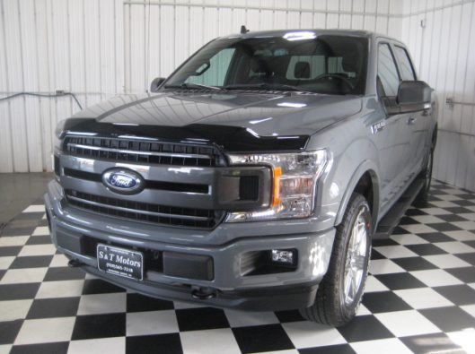 2018 Ford F150 Gray 005