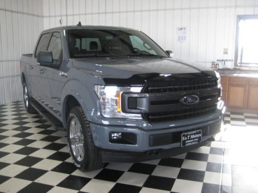 2018 Ford F150 Gray 008