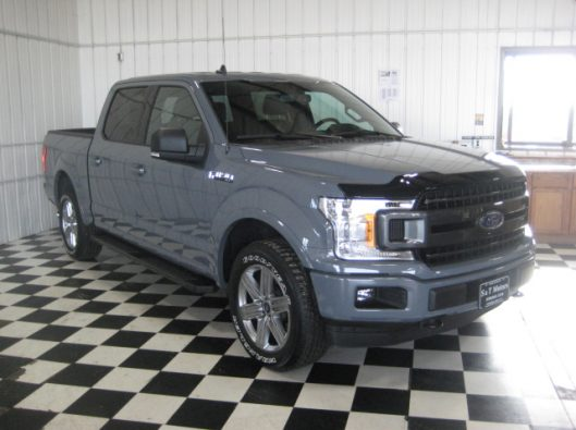 2018 Ford F150 Gray 010