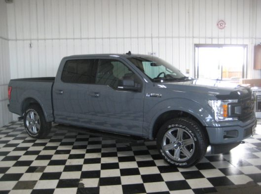2018 Ford F150 Gray 011
