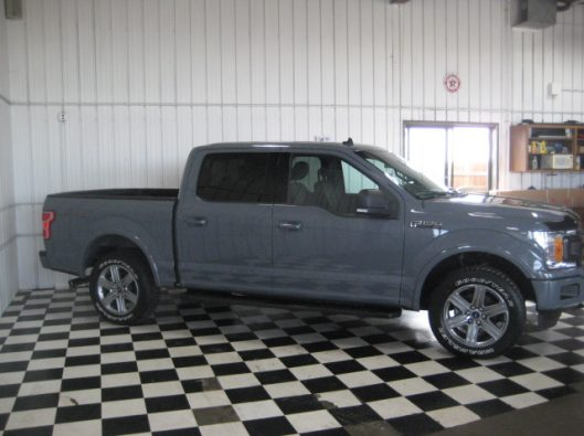 2018 Ford F150 Gray 012
