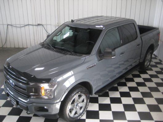 2018 Ford F150 Gray 014