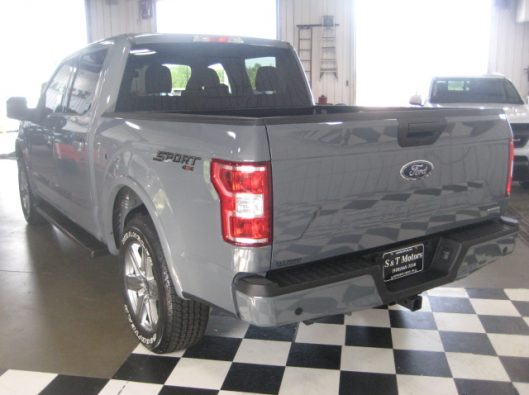 2018 Ford F150 Gray 015