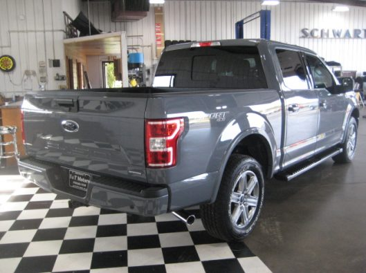 2018 Ford F150 Gray 017