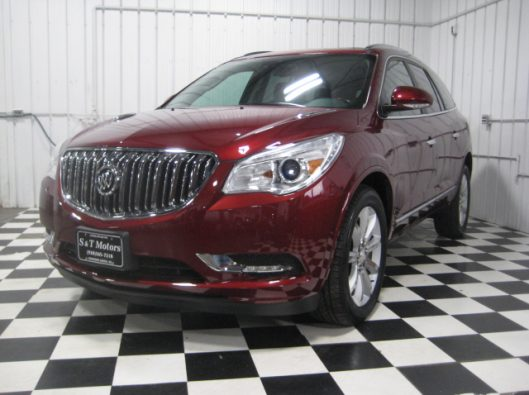 2016 Buick Enclave Red Premium 001 - Copy