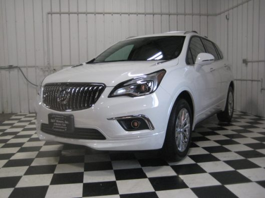 2017 Buick Envision Essence White 001