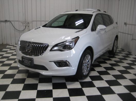2017 Buick Envision Essence White 002