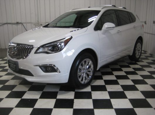 2017 Buick Envision Essence White 003