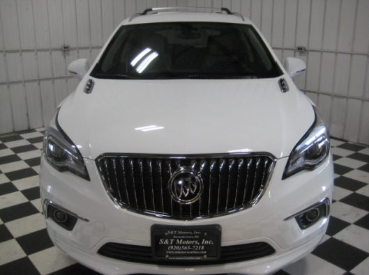 2017 Buick Envision Essence White 006