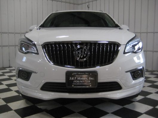 2017 Buick Envision Essence White 007