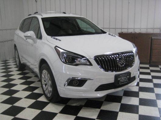 2017 Buick Envision Essence White 008