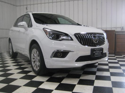 2017 Buick Envision Essence White 009