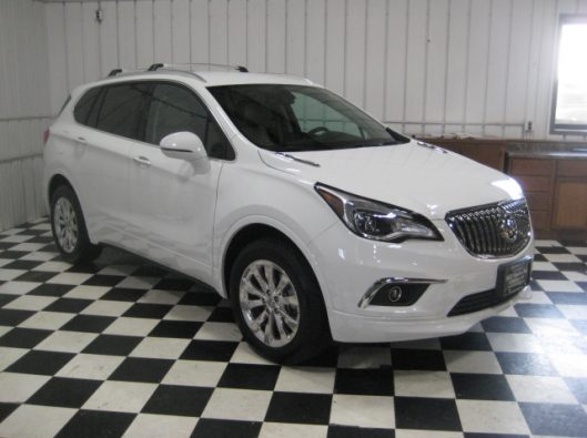 2017 Buick Envision Essence White 010