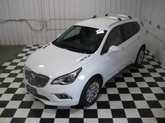 2017 Buick Envision Essence White 013