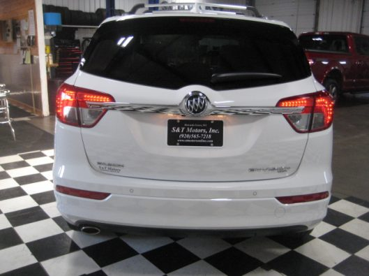 2017 Buick Envision Essence White 014