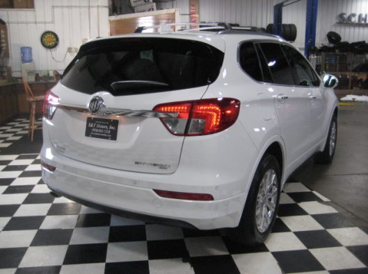 2017 Buick Envision Essence White 015