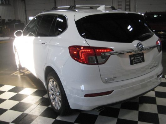 2017 Buick Envision Essence White 016