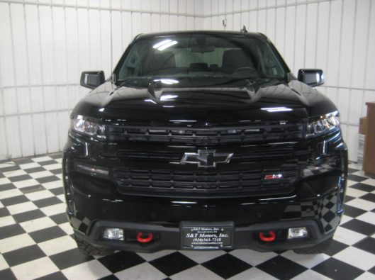 2019 Chev Silverado Trail Boss Black 006