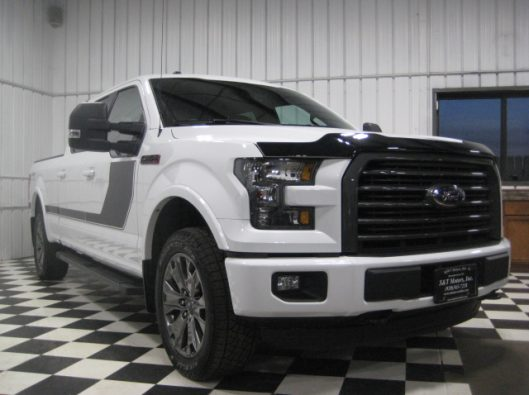 2016 Ford F150 White Crew Sport 007