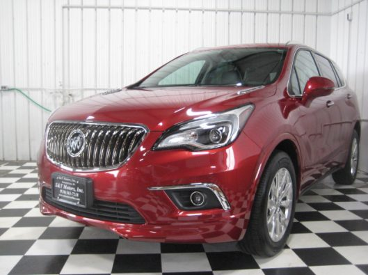 2017 Buick Envision Chili Red 001