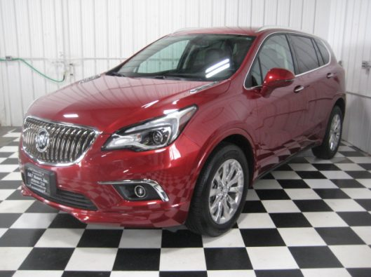 2017 Buick Envision Chili Red 002