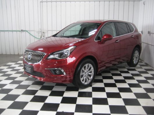 2017 Buick Envision Chili Red 003