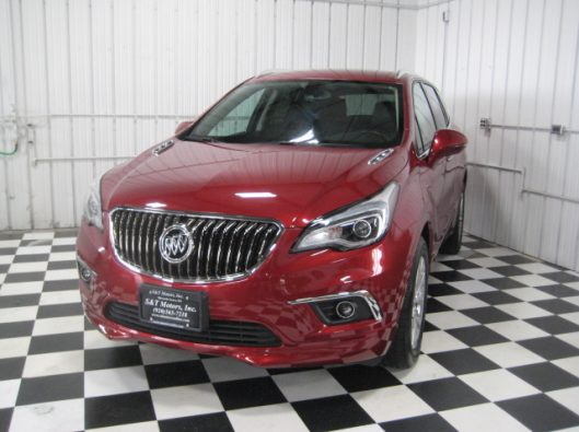 2017 Buick Envision Chili Red 004